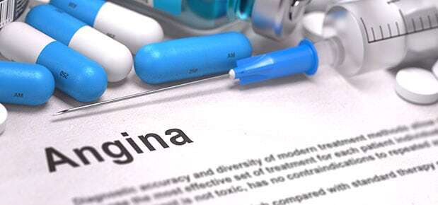 Angina medications and dental treatment